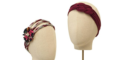 Upcycled Headband workshop with Bee Smith tickets