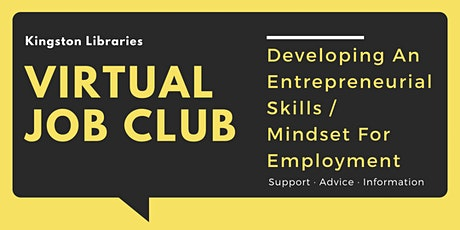 Developing An Entrepreneurial Skills / Mindset For Employment tickets