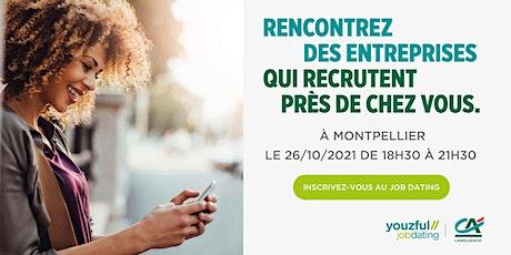Job Dating à Montpellier : décrochez un emploi ! billets
