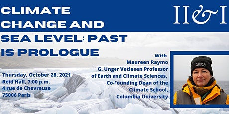 Climate Change and Sea Level: Past is Prologue billets