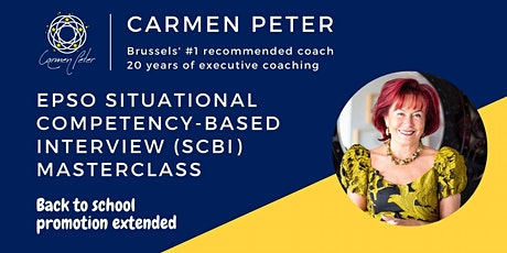 EPSO Situational Competency-based Interview (SCBI) Masterclass tickets