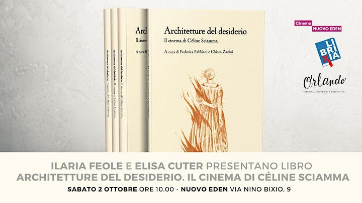 """Immagine Presentazione del libro """"Architetture del desiderio. Céline Sciamma"""""""