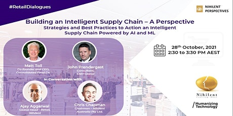 Building an Intelligent Supply Chain - A Perspective tickets