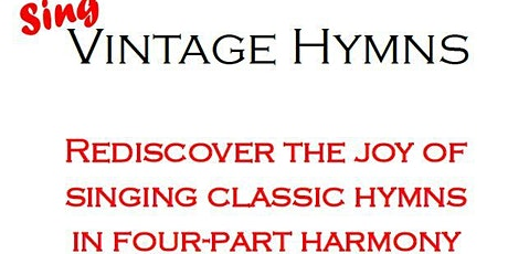 Vintage Hymns Hampstead tickets