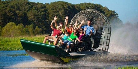 MIAMI EVERGLADES AIRBOAT RIDE HALF DAY AFTERNOON TOUR. tickets