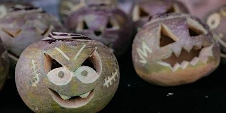 Pimpin' Pumpkins and Transforming Turnips Online Workshop Tickets