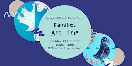 Families Art Trip to City Art Centre (Ages 8-12 + Parent/Carer) tickets