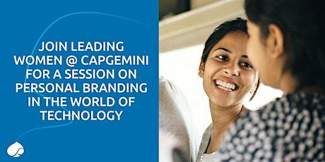 Women in Business presents Personal Branding - Graduate Careers @Capgemini tickets