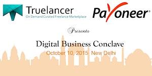 Digital Business Conclave co-hosted by Truelancer.com...
