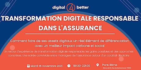 Transformation digitale responsable dans l'assurance billets