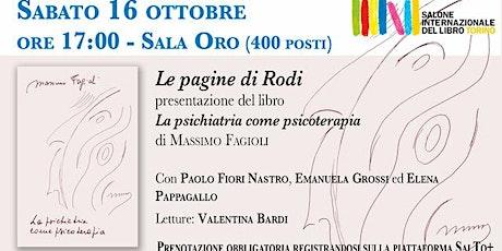 Le pagine di Rodi - Presentazione al Salone del libro di Torino biglietti