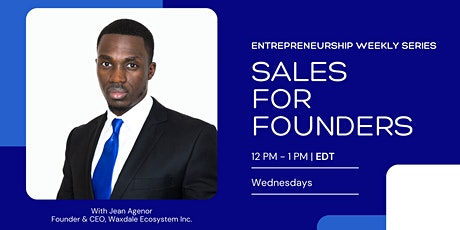 Sales for Founders tickets