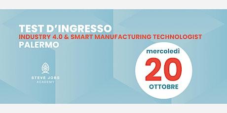 Esame al corso di Industry 4.0 & Smart Manufacturing Technologist - Palermo biglietti