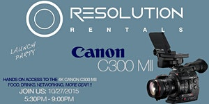Canon C300 Mark II Launch Party