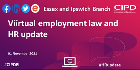Virtual Employment Law and HR Update tickets