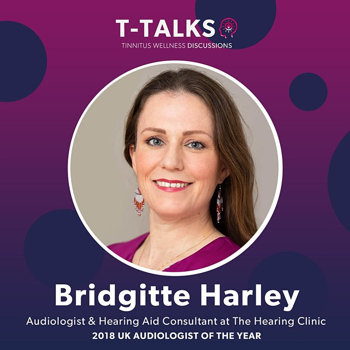 T-Talks - Tinnitus Wellness Discussions with Special Guest Bridgette Harley image