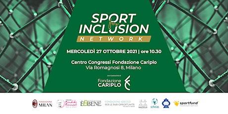 Sport For Inclusion Network, evento di presentazione e networking biglietti
