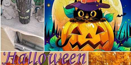 Halloween Knutselmiddag tickets