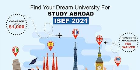 International Students Education Fair - Oct 2021 Bangalore tickets