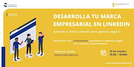 Webinar Emprende:  Desarrolla tu marca empresarial entradas