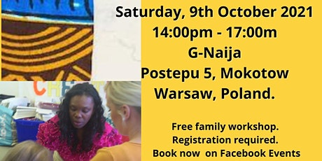 African Fabric Art: Family Event tickets