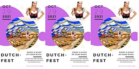 Dutch Fest tickets