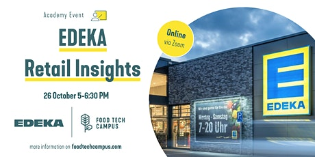 EDEKA Retail Insights - Deep Dive tickets