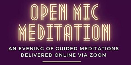 """""""OMM"""" Open Mic Meditation Night tickets"""