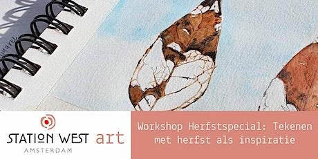 Workshop Herfstspecial: Tekenen met herfst als inspiratie! tickets