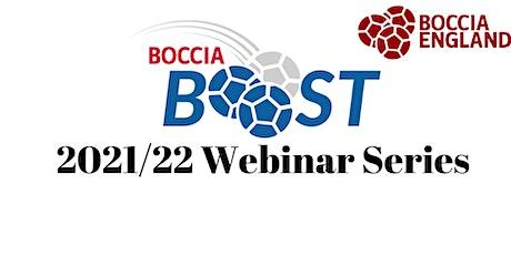 Boccia Boost Webinar: Back to Boccia Tickets