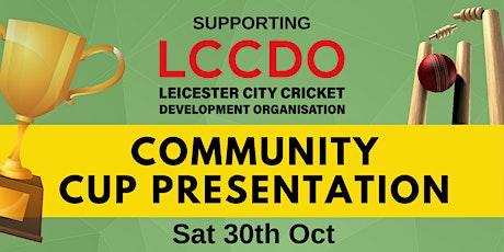 Community Cup Presentation tickets