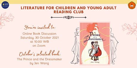 """LCYA Reading Club #3 """"The Prince and the Dressmaker"""" tickets"""