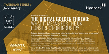 The Digital Golden Thread: what it means for the UK construction industry tickets