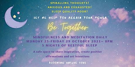 Mindfulness and Meditation tickets