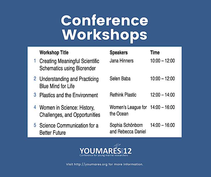 YOUMARES 12 Conference Workshops image