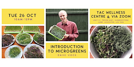Introduction to Microgreens tickets