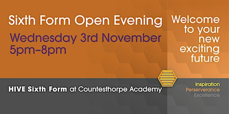 HIVE Sixth Form Open Evening Presentations tickets