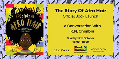 The Story Of Afro Hair ``` Book Launch: Black History Month tickets
