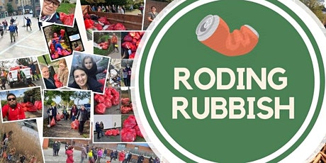 Roding Rubbish - October Litterpick tickets