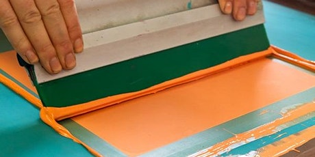 Screenprinting Weekend Course - Date Changed tickets