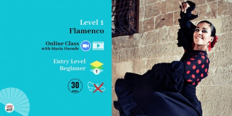 Flamenco Dance 6-week Online Crash Course tickets