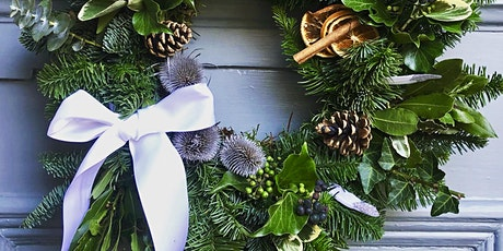 Christmas Wreath Making Workshops @ various Hove venues (The Railway) tickets