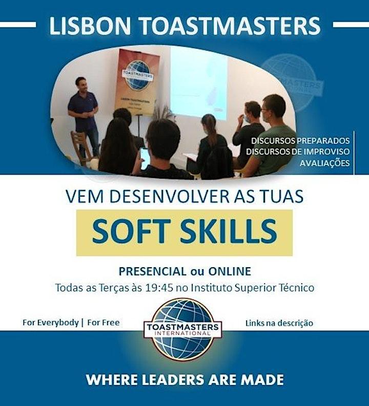 Lisbon Toastmasters - Concurso de avaliações de discurso 19/10/2021 @19h45 image
