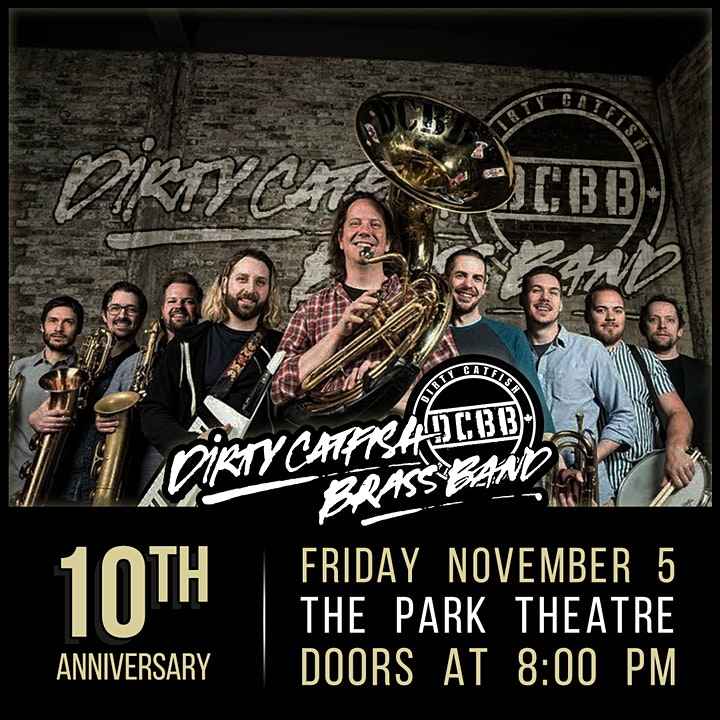 Dirty Catfish Brass Band 10th Anniversary Show image