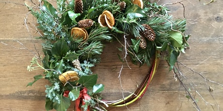 Christmas Wreath Workshop with Ruth tickets