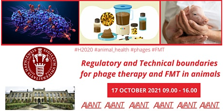 Regulatory and Technical boundaries for phage therapy and FMT in animals tickets