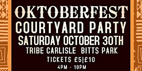 Carl Tait's Oktoberfest Courtyard-Party tickets