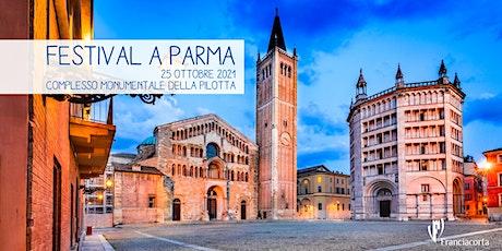 Festival Franciacorta a Parma biglietti