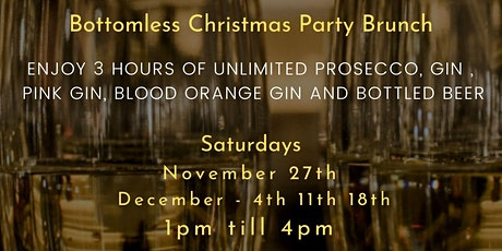 Bottomless  Christmas Party Brunch tickets