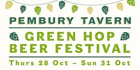 Green Hop Beer Festival At The Pembury Tavern tickets
